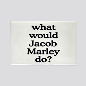 Jacob Marley Rectangle Magnet