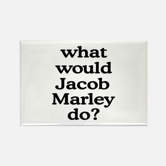Jacob Marley Rectangle Magnet