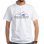Friends of the West River White T-Shirt