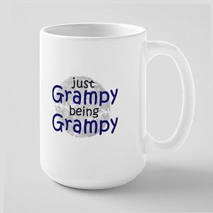 just Grampy being Grampy Large Mug