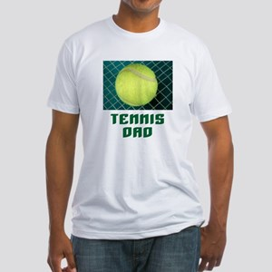Tennis Dad Fitted T-Shirt