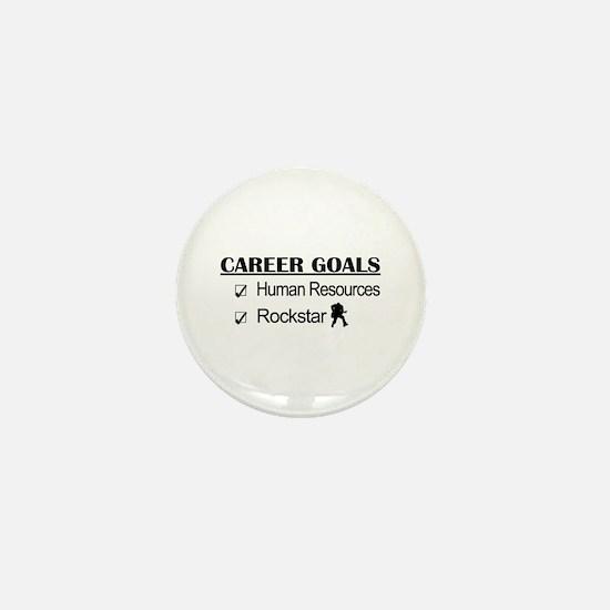 Human Resources Career Goals - Rockstar Mini Butto