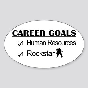 Human Resources Career Goals - Rockstar Sticker (O