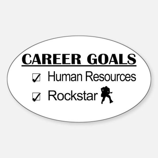Human Resources Career Goals - Rockstar Decal