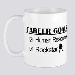 Human Resources Career Goals - Rockstar Mug
