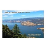Clear Lake from Mt Konocti Postcards (Pkg of 8)