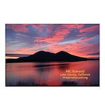 Sunset on Mt Konocti Postcards (Package of 8)