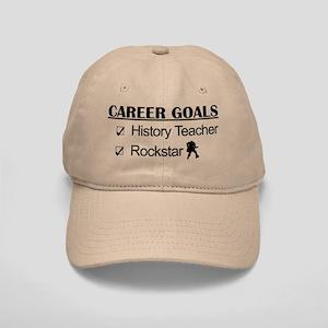 History Teacher Career Goals - Rockstar Cap