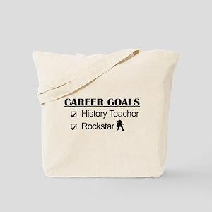 History Teacher Career Goals - Rockstar Tote Bag