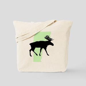 Green Moose Vermont Reusable Tote Bag