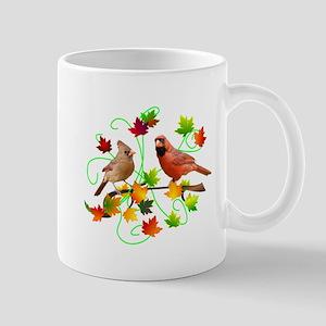 Cardinal Couple Mug