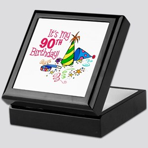 90th Birthday Party Jewelry Boxes