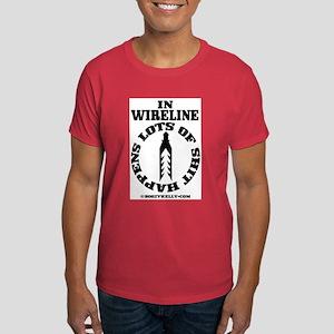 Shit Happens In Wireline Dark T-Shirt
