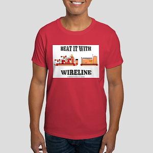 Beat It With Wireline Dark T-Shirt