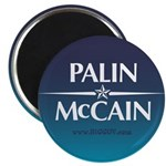The PALIN McCain Ticket Magnet