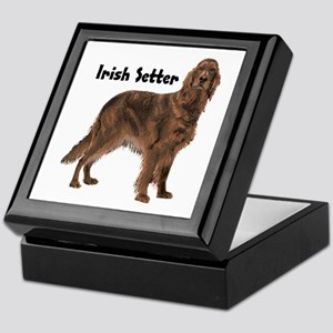 Irish Setter Keepsake Box