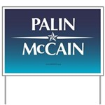The PALIN McCain Ticket Yard Sign