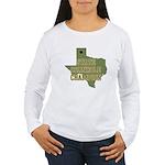 Texas State Cornhole Champion Women's Long Sleeve