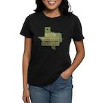 Texas State Cornhole Champion Women's Dark T-Shirt