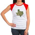 Texas State Cornhole Champion Women's Cap Sleeve T