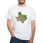 Texas State Cornhole Champion White T-Shirt