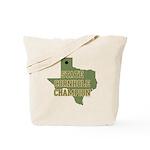 Texas State Cornhole Champion Tote Bag
