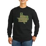 Texas State Cornhole Champion Long Sleeve Dark T-S