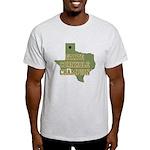 Texas State Cornhole Champion Light T-Shirt