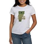 Vermont State Cornhole Champi Women's T-Shirt