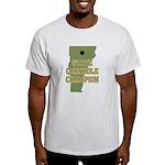 Vermont State Cornhole Champi Light T-Shirt