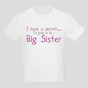 Big Sister Surprise! Kids Light T-Shirt