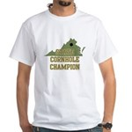 Virginia State Cornhole Champ White T-Shirt