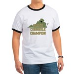 Virginia State Cornhole Champ Ringer T