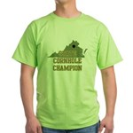 Virginia State Cornhole Champ Green T-Shirt