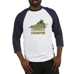 Virginia State Cornhole Champ Baseball Jersey