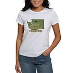 Washington State Cornhole Cha Women's T-Shirt