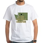 Washington State Cornhole Cha White T-Shirt
