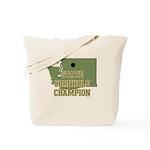 Washington State Cornhole Cha Tote Bag