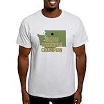 Washington State Cornhole Cha Light T-Shirt