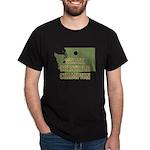 Washington State Cornhole Cha Dark T-Shirt