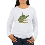 West Virginia State Cornhole Women's Long Sleeve T