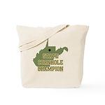 West Virginia State Cornhole Tote Bag