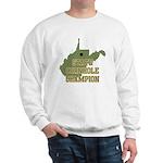 West Virginia State Cornhole Sweatshirt