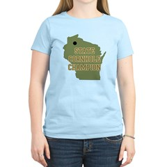 Wisconsin State Cornhole Cham Women's Light T-Shir