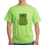 Generic State Cornhole Champi Green T-Shirt