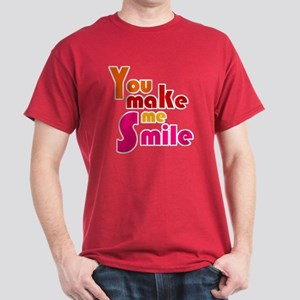 'You Make Me Smile' Dark T-Shirt