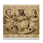 Great Dog Tiger Tile Coaster