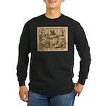 Great Dog Tiger Long Sleeve Dark T-Shirt