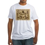 Great Dog Tiger Fitted T-Shirt