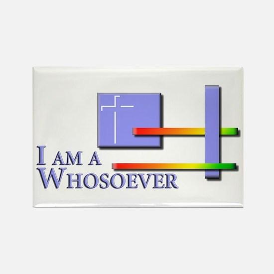I am a Whosoever Rectangle Magnet
